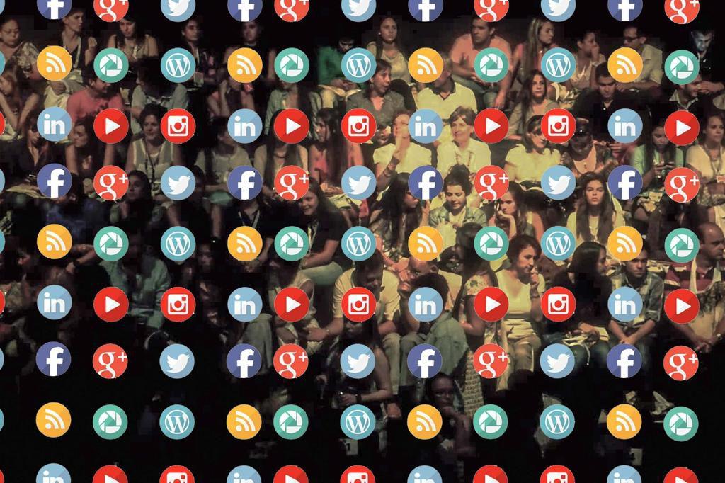 Redes sociales en eventos
