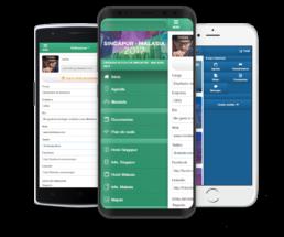 App para eventos perfil personal