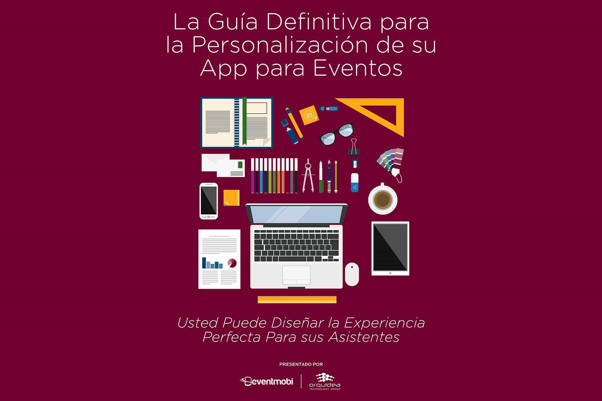 Guía personalización de app para evento