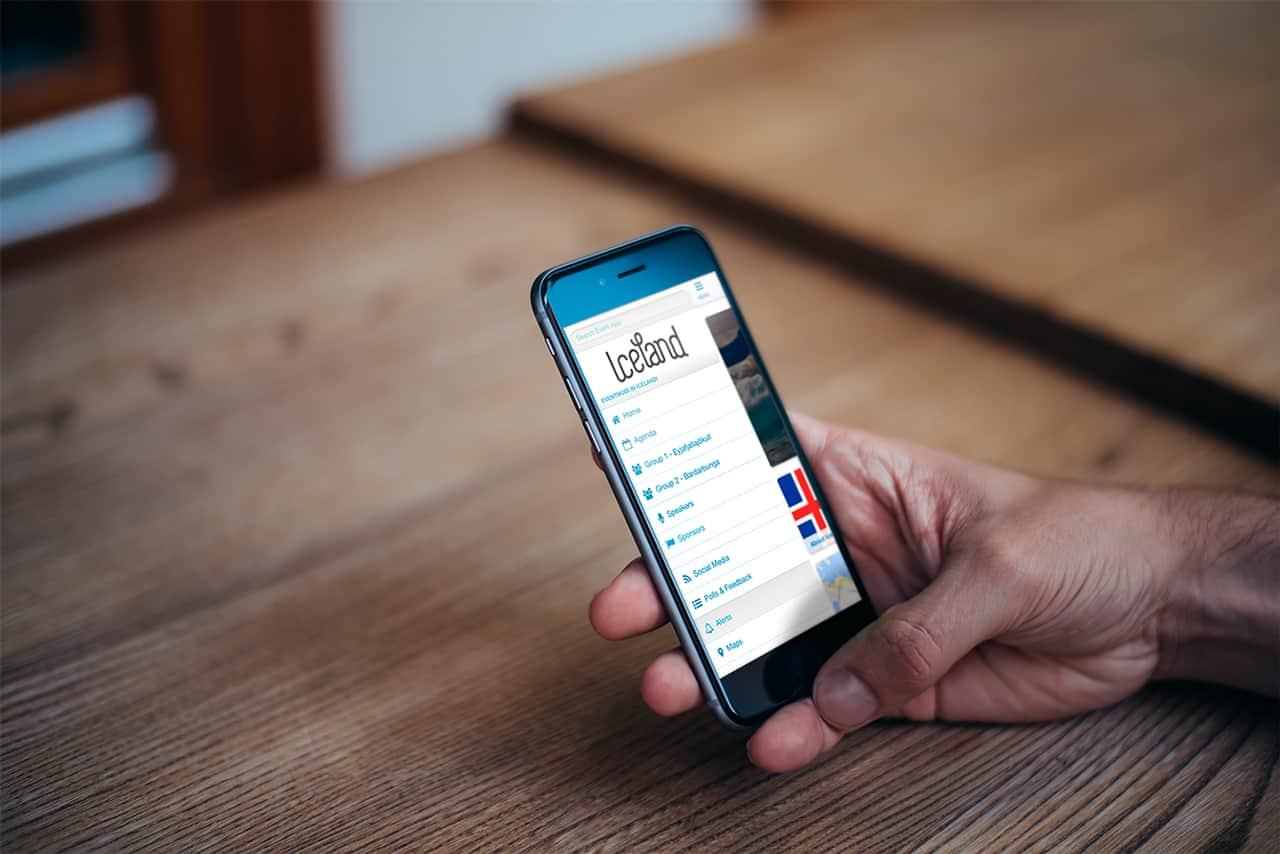 App para viaje de incentivo con Eventmobi