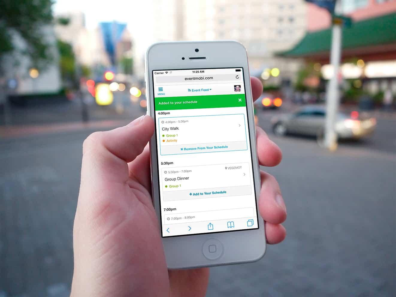 App para viaje de incentivo con actividades