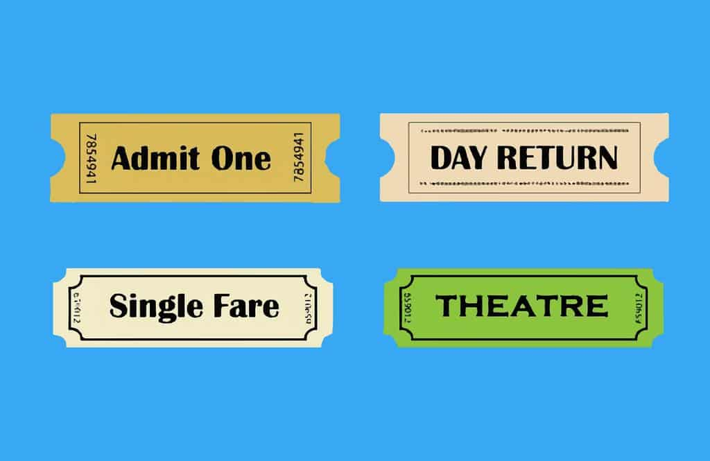 Entradas - tickets