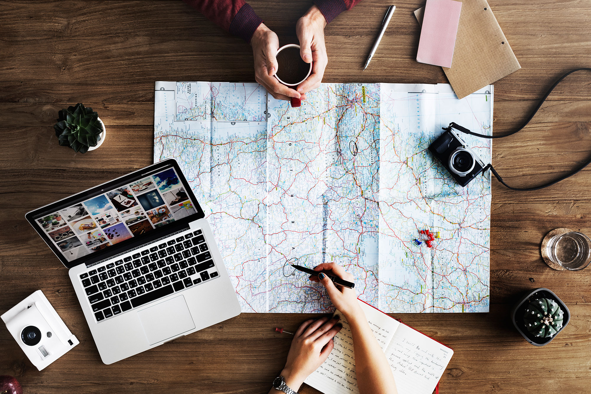 Planificar viajes de incentivo