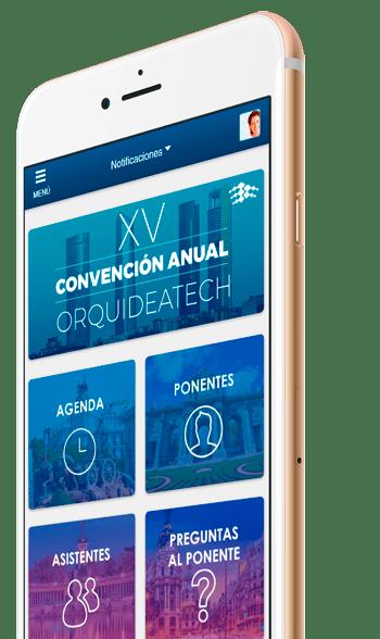 App para evento en smartphones