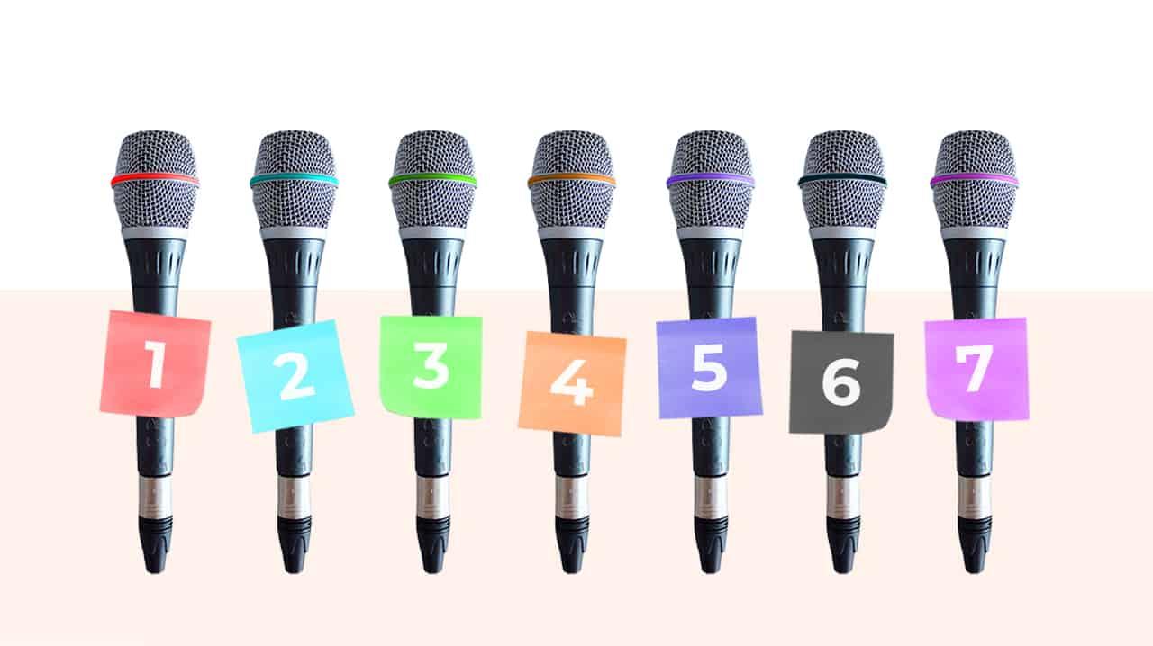 7 consejos para hacer que tus ponentes vuelvan