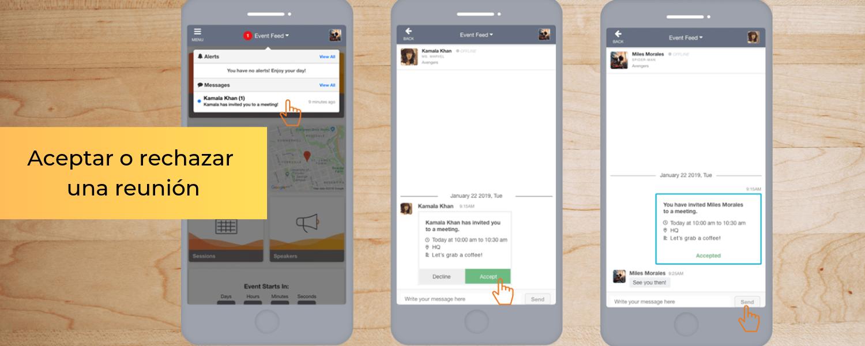 Las reservas de reuniones ya están disponibles en la App de EventMobi