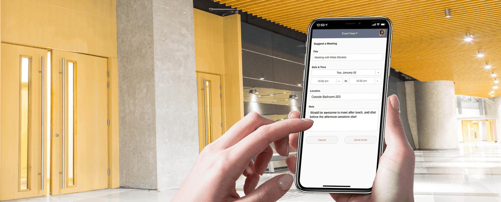 Las reservas de reuniones ya están disponible en la App de EventMobi