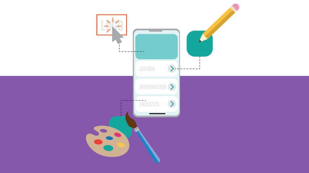 Diseñando la pantalla de inicio de tu app para eventos