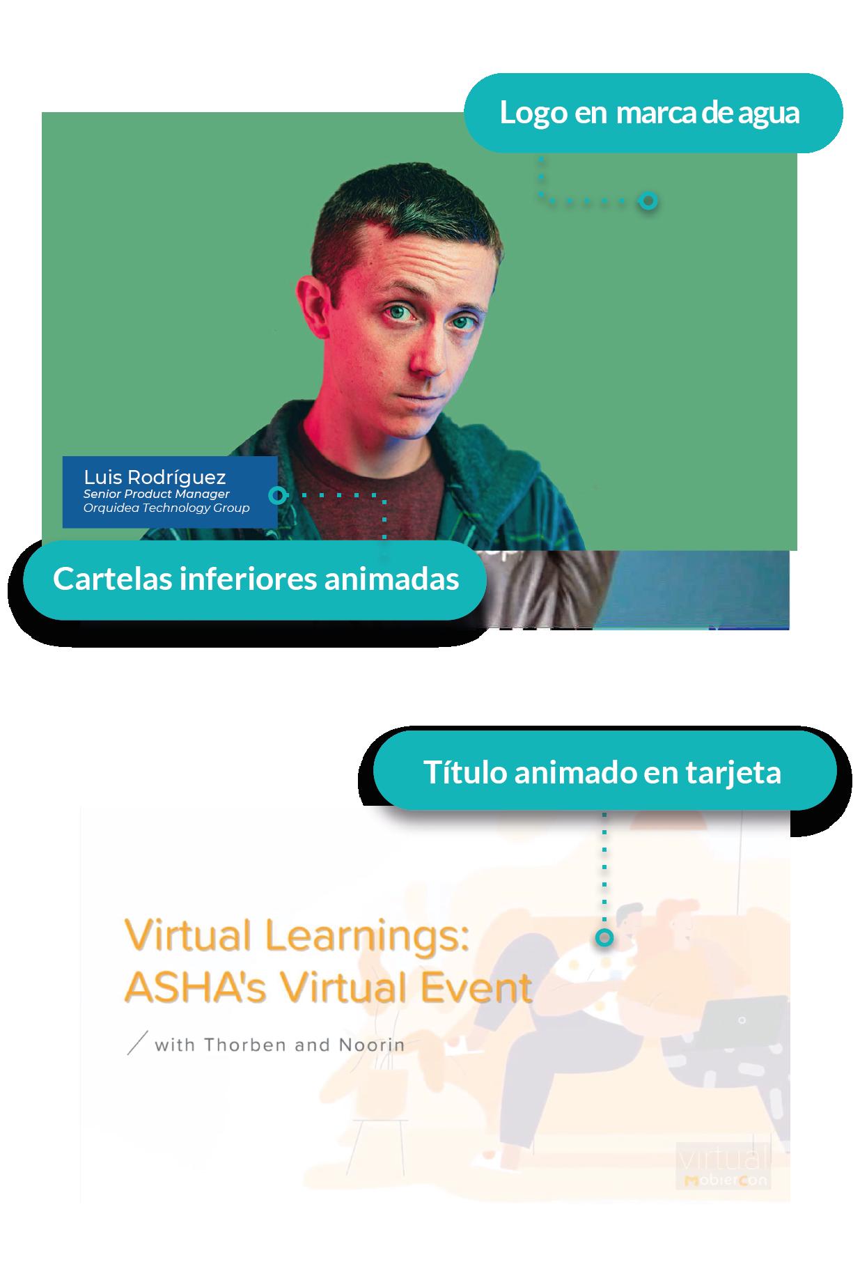 Producción de eventos virtuales