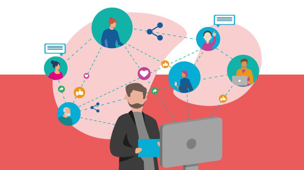 Crear una comunidad comprometida con los eventos virtuales