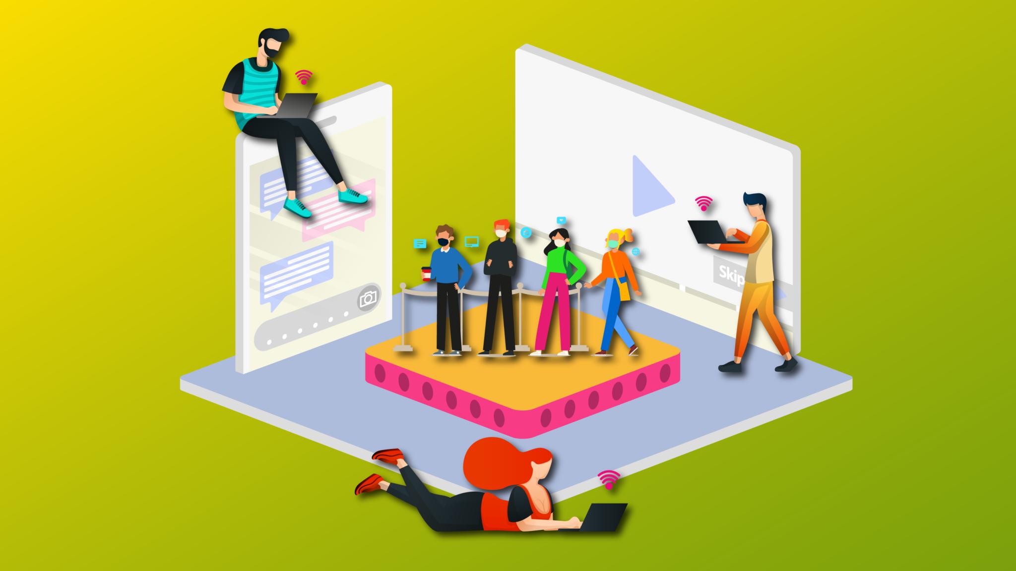Los eventos en vivo regresan apoyados por lo virtual
